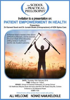Public Talk: Patient Empowerment in Health