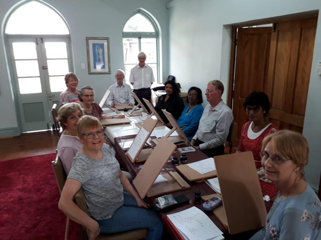 Durban School Sanskrit Study Group's Last Meeting of 2018